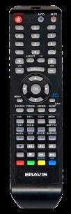 BRAVIS LCD-19A40 [TV+DVD] оригинальный пульт ДУ  для телевизора - магазин Remote - Фото 1