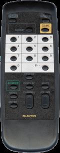 AIWA RC-6VT05 [TV] пульт ДУ  для телевизора - магазин Remote - Фото 1