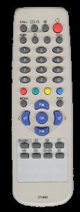 TOSHIBA CT-893 / CT-889 / CT-90279 [TV] пульт ДУ  для телевизора - магазин Remote - Фото 1