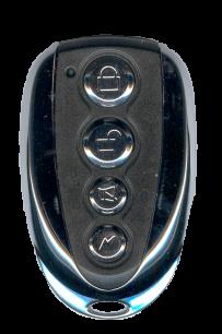 RD017X NICE flor-s, DITEC (стекло светодеода белое), V2 обучаемый плавающий код (433 MHz) [RF UNIVERSAL] пульт ДУ для ворот и шлагбаумов - магазин Remote - Фото 1