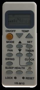 HAIER YR-M10 пульт для кондиционера [Conditioner] оригинальный пульт ДУ для кондиционеров - магазин Remote - Фото 1