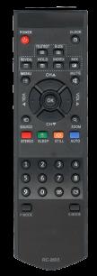 BBK RC 2603 [TV] пульт ДУ  для телевизора - магазин Remote - Фото 1