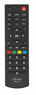 STRONG T2 STR 8502 [DVB-T2] пульт ДУ Т2 тюнера - магазин Remote - Фото 1