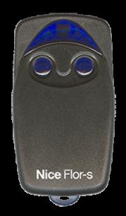 NICE Flor-s 2CH 433MHz плавающий код [RF] оригинальный пульт ДУ для ворот и шлагбаумов - магазин Remote - Фото 1