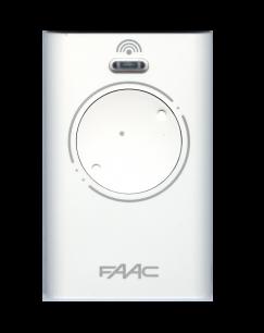 FAAC XT2 SLH Master 2CH 433MHz плавающий код [RF] оригинальный пульт ДУ для ворот и шлагбаумов - магазин Remote - Фото 1