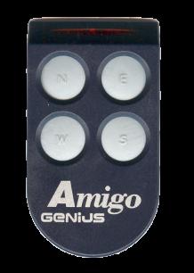 GENIUS Amigo JA334 4CH 868MHz плавающий код [RF] оригинальный пульт ДУ для ворот и шлагбаумов - магазин Remote - Фото 1