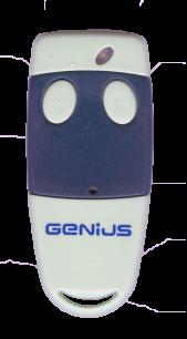 GENIUS TX2 2CH 433MHz плавающий код [RF] оригинальный пульт ДУ для ворот и шлагбаумов - магазин Remote - Фото 1