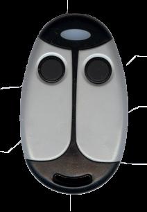 SEA COCCINELLA 2CH 433MHz плавающий код [RF] оригинальный пульт ДУ для ворот и шлагбаумов - магазин Remote - Фото 1