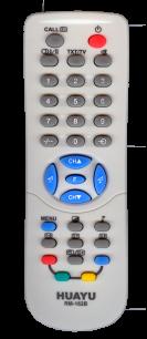 HUAYU TOSHIBA RM-162B TV универсальный [UNIVERSAL] оригинальный пульт ДУ универсальные - магазин Remote - Фото 1