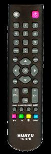HUAYU SATURN/TCL /THOMSON TC-97E TV универсальный [UNIVERSAL] оригинальный пульт ДУ универсальные - магазин Remote - Фото 1