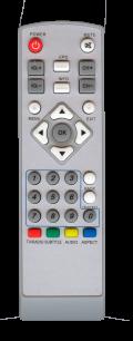 ACCESS DCD-3011 ВОЛЯ КАБЕЛЬ [VOLIA CABLE] пульт ДУ для спутниковых и кабельных тюнеров - магазин Remote - Фото 1
