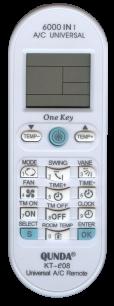 KT-e08 универсальный программируемый [UNIVERSAL for Conditioner] пульт ДУ для кондиционеров - магазин Remote - Фото 1