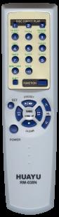 HUAYU AIWA RM-038N универсальный [UNIVERSAL AUX ] оригинальный пульт ДУ универсальные - магазин Remote - Фото 1