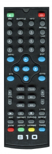 ORIEL T2 810 / 811 / 812 / 814 / 826  [DVB-T2] пульт ДУ Т2 тюнера - магазин Remote - Фото 1
