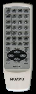 HUAYU AIWA RM-053 универсальный [UNIVERSAL AUX] оригинальный пульт ДУ универсальные - магазин Remote - Фото 1