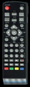 ERGO T2 RX-511 / SKY PRIME T2 V T2 HD / BRAVIS STB-1108 / REXANT RX-511 [DVB-T2] пульт ДУ Т2 тюнера - магазин Remote - Фото 1