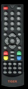 TIGER 4100 HD / TIGER   4050 HD / TIGER 4060 HD / TIGER  X80 HD / TIGER  X90 HD [SAT] пульт ДУ для спутниковых и кабельных тюнеров - магазин Remote - Фото 1