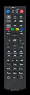 Aura MAG-250 [IPTV,LINUX SET-TOP BOX] пульт ДУ для IPTV, smart TV, Android тв приставок - магазин Remote - Фото 1