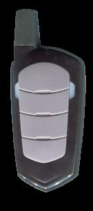 RS276X (433.92 MHz) универсальный обучаемый постоянный код, повышенная дальность [RF UNIVERSAL] оригинальный пульт ДУ для ворот и шлагбаумов - магазин Remote - Фото 1