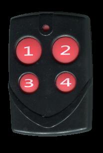 QN-RD166B-W (300-868,3 MHz) универсальный обучаемый постоянный код [RF UNIVERSAL] оригинальный пульт ДУ для ворот и шлагбаумов - магазин Remote - Фото 1