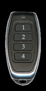 RS039X Beninca плавающий код (433 MHz) [RF] пульт ДУ для ворот и шлагбаумов - магазин Remote - Фото 1