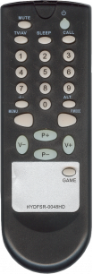 AVEST/ARVIN HYDFSR-0048HD [TV] пульт ДУ  для телевизора - магазин Remote - Фото 1
