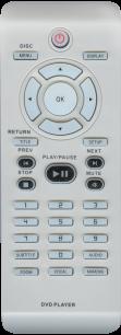 PHILIPS RC-2011 dvd plaer DVP5168 [DVD] пульт ДУ для DVD, Blu-ray, DVD систем и домашних кинотеатров - магазин Remote - Фото 1