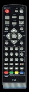 SELENGA T2 T60 [DVB-T2] пульт ДУ Т2 тюнера - магазин Remote - Фото 1