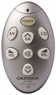 CHUNGHOP RM-6ES универсальный программируемый [UNIVERSAL] пульт ДУ универсальные - магазин Remote - Фото 1