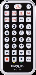 CHUNGHOP RM-E82 универсальный программируемый [UNIVERSAL] пульт ДУ универсальные - магазин Remote - Фото 1