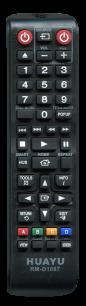 HUAYU SAMSUNG RM-D1087 Blu-Ray универсальный [UNIVERSAL for DVD] пульт ДУ универсальные - магазин Remote - Фото 1