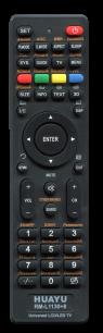 HUAYU RM-L1130+8 универсальный [UNIVERSAL LED LCD TV] оригинальный пульт ДУ универсальные - магазин Remote - Фото 1