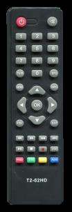 OPENBOX T2 T2-02 HD / T2-04 IR [DVB-T2] пульт ДУ Т2 тюнера - магазин Remote - Фото 1