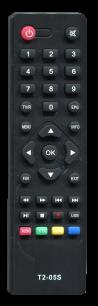 OPENBOX T2 T2-05 HD [DVB-T2] пульт ДУ Т2 тюнера - магазин Remote - Фото 1
