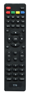 SELENGA T2 T70 / HD930 [DVB-T2] пульт ДУ Т2 тюнера - магазин Remote - Фото 1