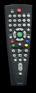 BBK T2 RC-SMP712 [DVB-T2] пульт ДУ Т2 тюнера - магазин Remote - Фото 1