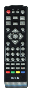 OPENFOX  T2 mini IR / SAT-INTEGRAL 5050 [DVB-T2] пульт ДУ Т2 тюнера - магазин Remote - Фото 1