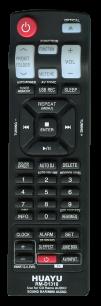 HUAYU LG RM-D1318 универсальный [[UNIVERSAL for AUX] оригинальный пульт ДУ для музыкальных центров и аудио техники - магазин Remote - Фото 1