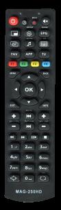 MAG-250 [IPTV,LINUX SET-TOP BOX] пульт ДУ для IPTV, smart TV, Linux и Android тв приставок и медиаплееров - магазин Remote - Фото 1