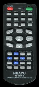 HUAYU AUTO RC-820J+B [AVTO+PROJECTOR UNIVERSAL] пульт ДУ универсальные - магазин Remote - Фото 1