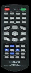 HUAYU AUTO RC-820J+C [AVTO+PROJECTOR UNIVERSAL] пульт ДУ универсальные - магазин Remote - Фото 1