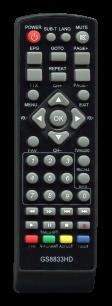 GOLDSTAR T2 8833HD [DVB-T2] пульт ДУ Т2 тюнера - магазин Remote - Фото 1