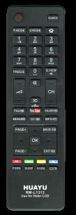 HUAYU HAIER RM-L1313  TV универсальный [UNIVERSAL] оригинальный пульт ДУ универсальные - магазин Remote - Фото 1