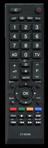 TOSHIBA CT-90386 [PLASMA, LCD TV] пульт ДУ  для телевизора - магазин Remote - Фото 1
