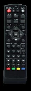 LORTON T2 T2-10 [DVB-T2] пульт ДУ Т2 тюнера - магазин Remote - Фото 1