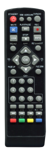 PROWEST T2 PW2017 [DVB-T2] пульт ДУ Т2 тюнера - магазин Remote - Фото 1