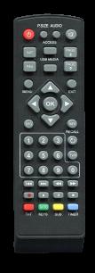 TIGER  F1 HD [SAT] пульт ДУ для спутниковых и кабельных тюнеров - магазин Remote - Фото 1