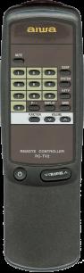 AIWA RC-TV2 [TV] пульт ДУ  для телевизора - магазин Remote - Фото 1