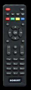 ROMSAT T8000HD / LUMAXDVBT2-555HD [DVB-T2] пульт ДУ Т2 тюнера - магазин Remote - Фото 1