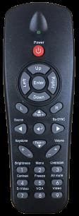 OPTOMA XE152 (EP7255 EP3225 EX530 XE134 XE152) [PROJECTOR] оригинальный пульт ДУ для проекторов - магазин Remote - Фото 1